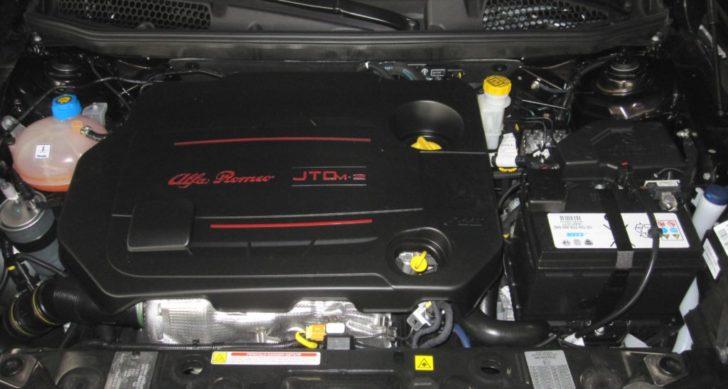 アルファロメオのディーゼルエンジン