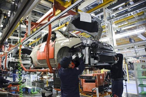 フィアットの生産工場